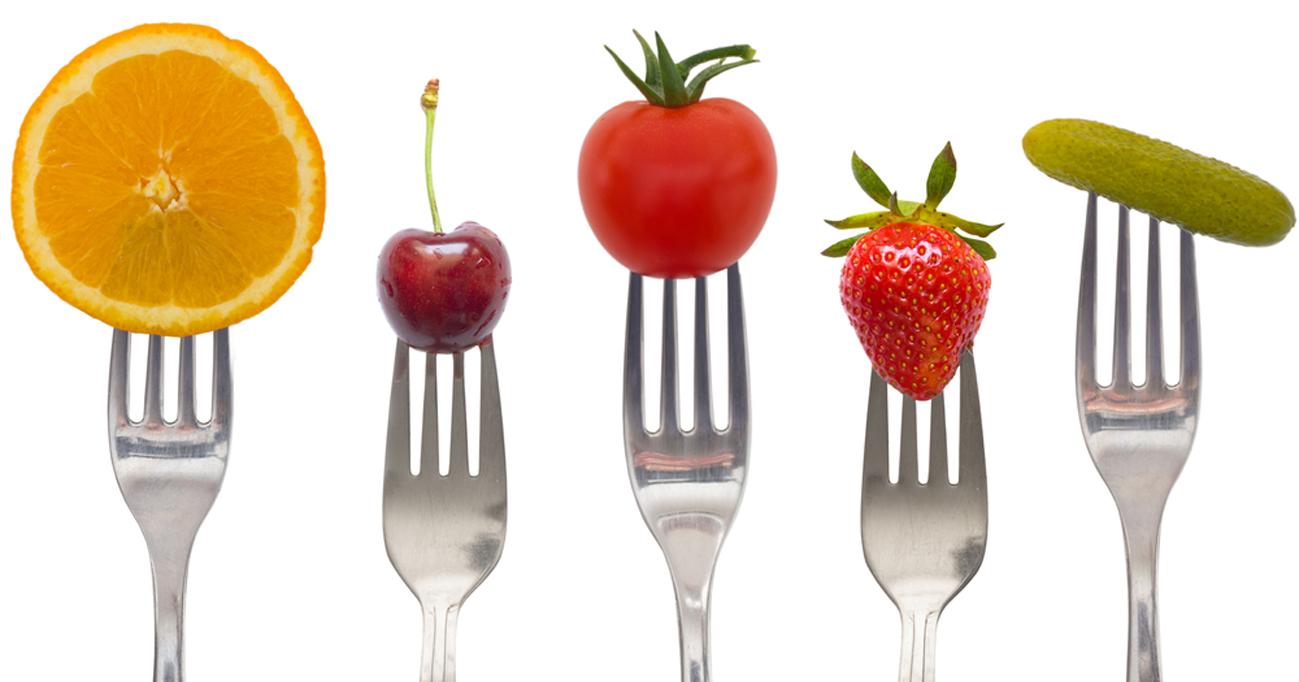 fruit-on-a-fork